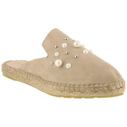Spring Step Azura Womens Lorinda Pearl Mule Shoes