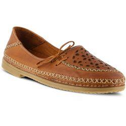 Spring Step Womens Sideway Slip-On Shoes