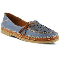 Spring Step Womens Sideway Slip-On Shoes