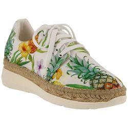 Azura Womens Tropical Print Kacy Shoes