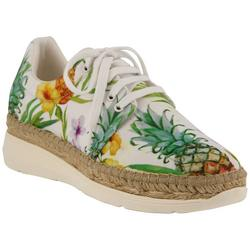 Azura Womens Tropical Print Kacy Shoes
