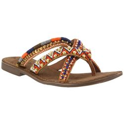 Spring Step Azura Womens Triage Thong Sandals