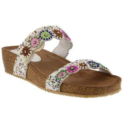 Spring Step Azura Womens Bahama Slide Sandals
