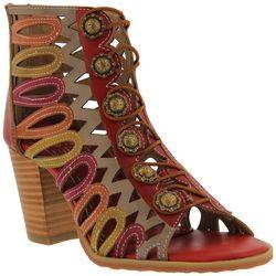 Spring Step Womens L'Artiste Julian Leather Sandals