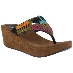 Spring Step Azura Womens Headress Thong Sandals