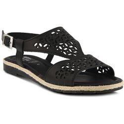 Spring Step Womens Creshia Laser Cut Sandals