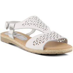 Spring Step Womens Creshia Laser Cut Sandals