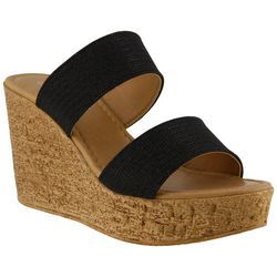 Spring Step Azura Womens Fiora Wedge Slides