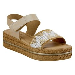 Spring Step Womens Grendya Platform Sandals
