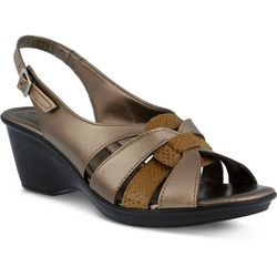 Spring Step Womens Adorable Sling Back Sandal