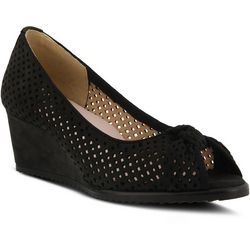 Spring Step Womens Lucina Wedge Pumps