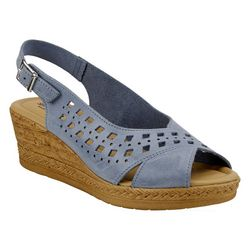 Spring Step Womens Goosey Wedge Sandals