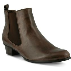 Spring Step Womens Lithium Pull On Bootie