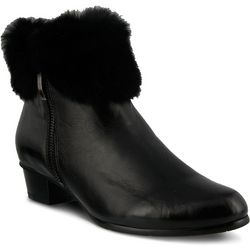 Spring Step Womens Burnside Pull On Bootie