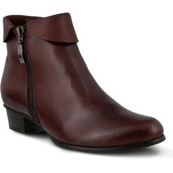 Spring Step Womens Stockholm Pull On Bootie