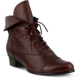 Spring Step Womens Galil Lace Up Bootie