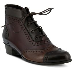 Spring Step Womens Heroic Lace Up Bootie