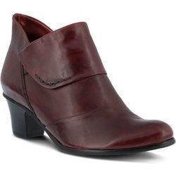 Spring Step Womens Azzuro Pull On Bootie