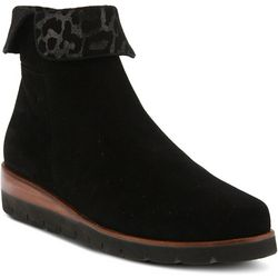 Spring Step Womens Paciencia Suede Ankle Boot