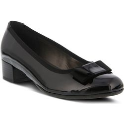 Spring Step Womens Genya Leather Pump