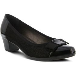 Spring Step Womens Cheo Leather Pump
