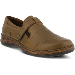 Spring Step Womens Smolqua Leather Loafer