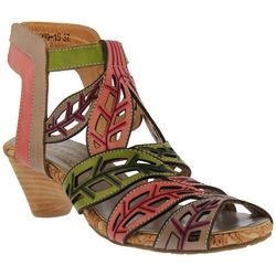 Spring Step Womens L'Artiste Boho Chic Sandals