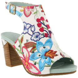 Spring Step Womens L'Artiste Tapestry Sandals