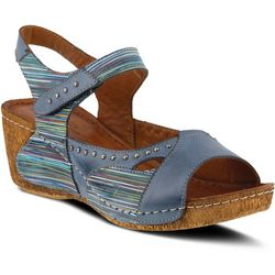 Spring Step Womens Jaslyn Studded Sandals