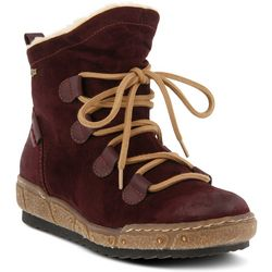 Spring Step Womens Hunnie Lace Up Bootie
