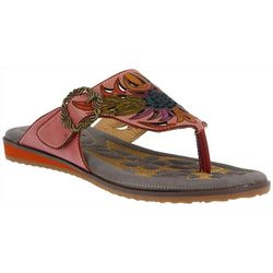Spring Step Womens L'Artiste Poetic Thong Sandals