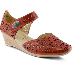 Spring Step Womens Nougat Wedge Shoes