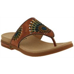 Spring Step Womens L'Artiste Mayura Thong Sandals