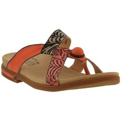 Spring Step Womens L'Artiste Pierce Thong Sandals