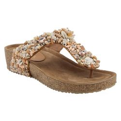 Spring Footwear Womens Azura Seashells Sandals