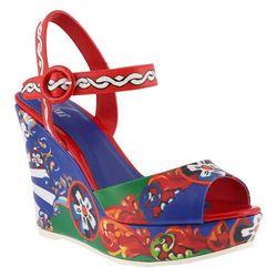 Spring Footwear Womens Azura Stella Floral Sandals