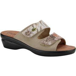 Spring Footwear Womens Flexus Kina Slide Sandals