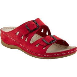 Spring Footwear Womens Flexus Okya Slide Sandals
