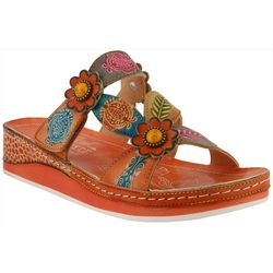 Spring Step Womens L'Artiste Pillow Slide Sandals