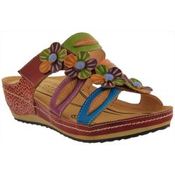 Spring Step Womens L'Artiste Pixie Slide Sandals