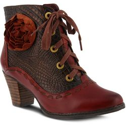 Spring Step Womens L'Artiste Sufi Lace Up Booties