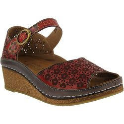 Spring Step Womens L'Artiste Delphia Wedge Sandals