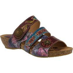 Spring Step Womens L'Artiste Jamila Slide Sandals