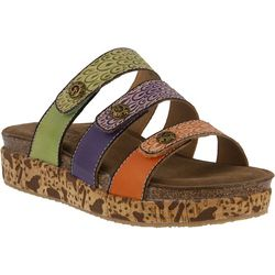 Spring Step Womens L'Artiste Keena Slide Sandals