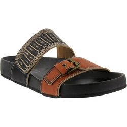 Spring Step Womens L'Artiste Ganilli Slide Sandals