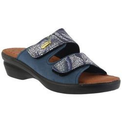 Spring Step Womens Flexus Kina Slide Sandals