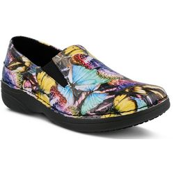 Spring Step Womens Ferrara Butterfly Work Shoes