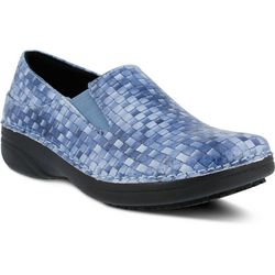 Spring Step Womens Ferrara Woven Work Shoes