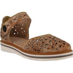 Spring Step Womens L'Artiste Supple Cutout Shoes