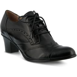 Spring Step Womens Rorie Heeled Oxfords